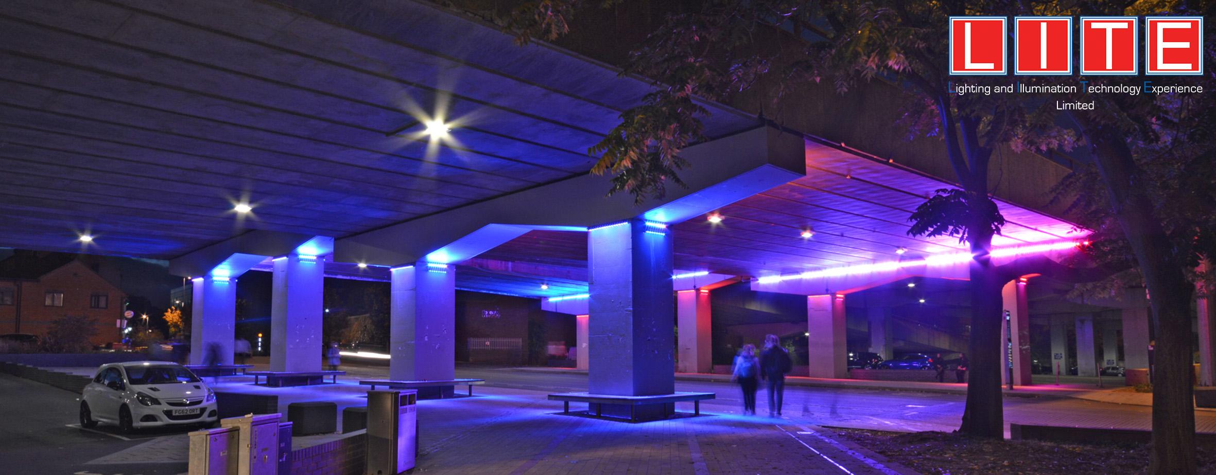 Lite Ltd | Gosford street light/rgb lighting Gosford street