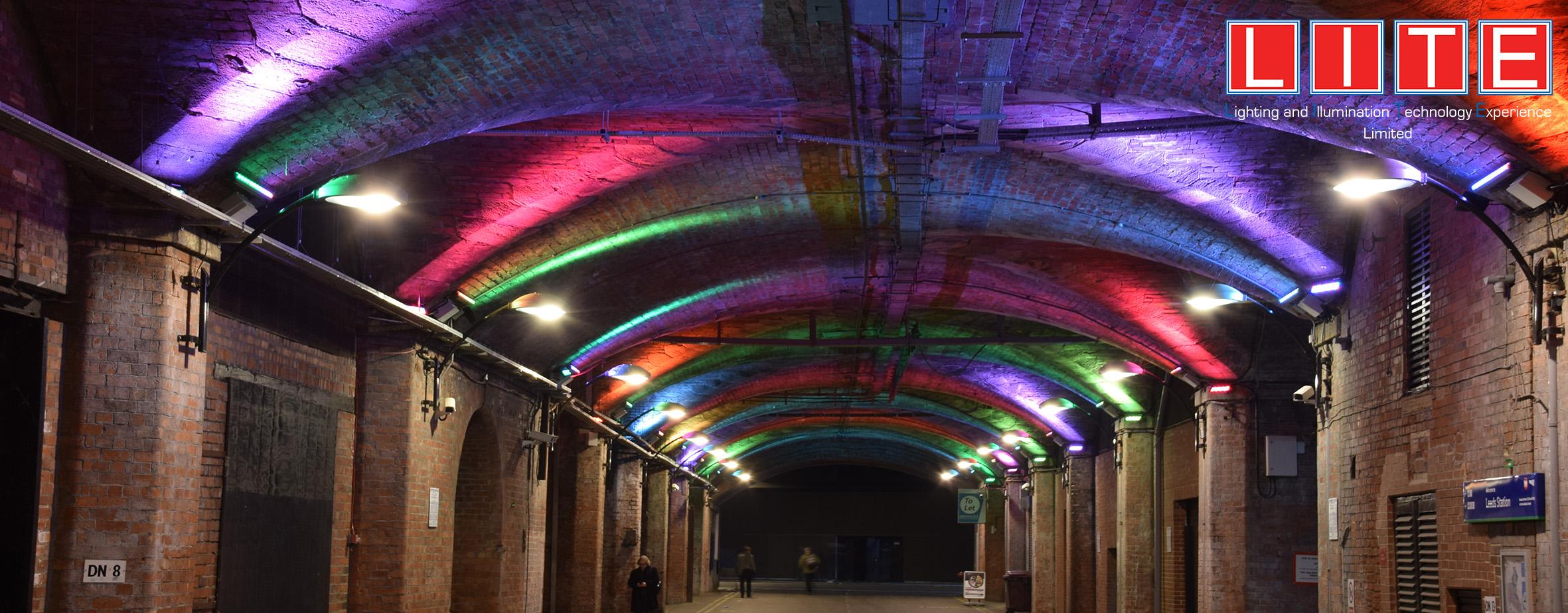 Lite Ltd | Dark Neville street light/rgb lighting Dark